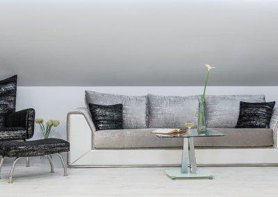 Garnitura Sofa Kan + Beržera Maki