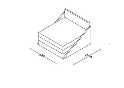 Fotelja Ana razvlacenje-Model.jpg izometrija 1, linija 1mm