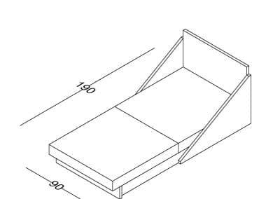 Fotelja Ana razvlacenje-Model.jpg izometrija 2, linija 1mm
