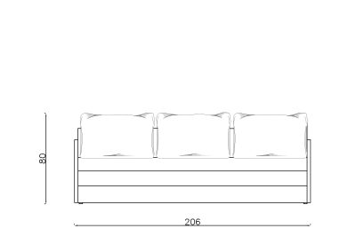 Lezaj Ana preklop-Model.jpg 200x80, front, linija 1mm
