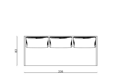 Lezaj Ana preklop-Model.jpg 200x80,plain, linija 1mm