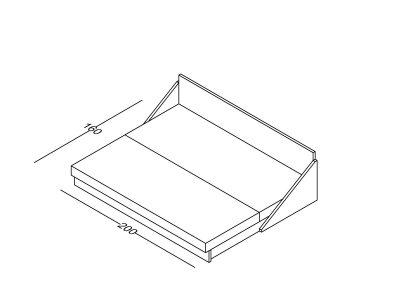 Lezaj Ana razvlacenje preklop-Model.jpg izometrija2 , linija 1mm