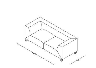 Sofa Grofica 2-Model.jpg izometrija, linija 1mm