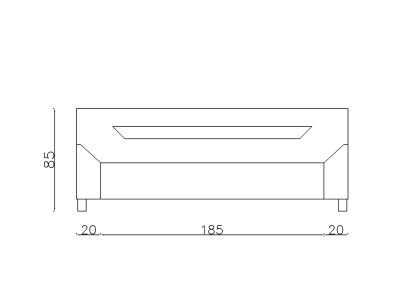 Sofa Grofica-Model.jpg front, linija 1mm