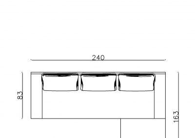 Ugaona garnitura Milica N-Model.jpg plain, linija 1mm