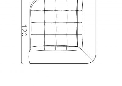 Ugaoni segment Ana-Model.jpg plain, linija 1mm