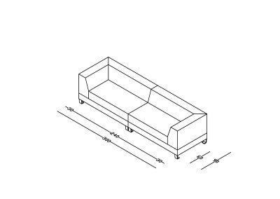 Sofa Leta-Model.jpg izometrija 2, linija 1mm