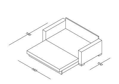Trosed Maša razvlacenje-Model.jpg 160x190, izometrija2, linija 1mm