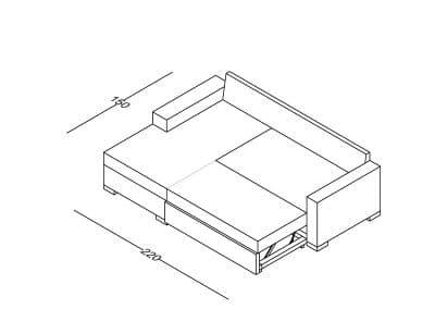 Ug. garnitura Milica razvlacenje-Model.jpg 240x160, izometrija 3, linija 1mm