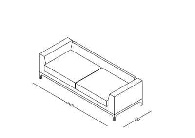 Zoja lux izometrija-Model linija 1mm